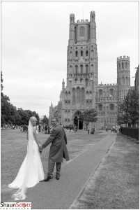 Ely Cathedral Wedding Photography