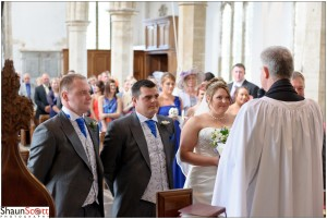 St Wendreda's Church March Wedding Photography