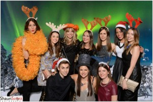 Christmas Party Green Screen Event Photography
