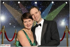 Green Screen Corporate Event Photography