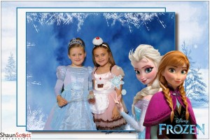 Kids Birthday Party Photography Frozen Theme