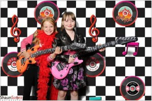 Kids Birthday Party Rock N Roll Theme
