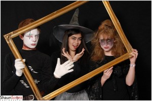 Halloween Event Photography with frame