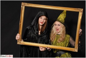Halloween Event Photography with photo frame