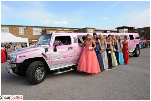 School Prom Arrival Photographs