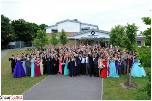 School Prom Group Photography