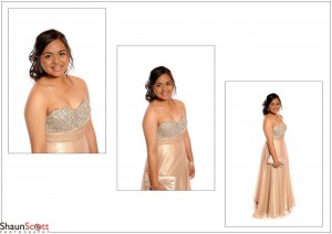 Prom Photography Single Female Montage