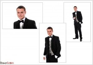 Prom Photography Single Male Montage