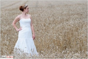 Wedding Photography Bride By Shaun Scott