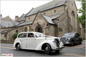 Ely Wedding Photography Arrival Car