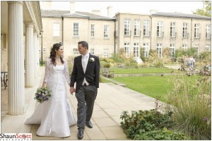 Cambridge Wedding Photography, The Bride & Groom