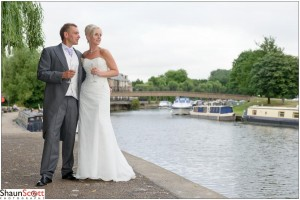The Maltings Ely Wedding Photography, The Bride & Groom
