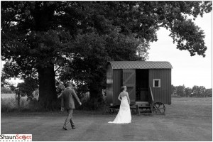 The Red Barn Wedding Photography, The Bride & Groom