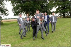 Red Barn Wedding Photography, The Grooms Men