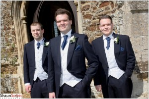 Downham Market Wedding Photography, The Grooms Men