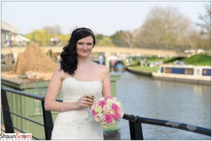 Ely Riverside Wedding Photography, The Bride